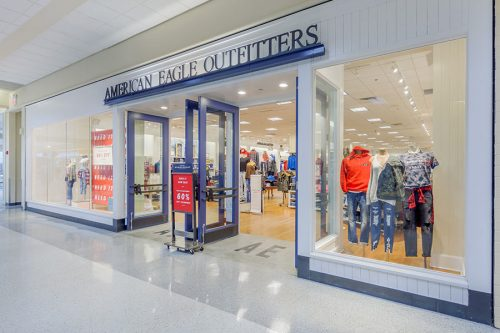 American Eagle Outfitters Berkeley Mall Shopping Center Goldsboro, NC