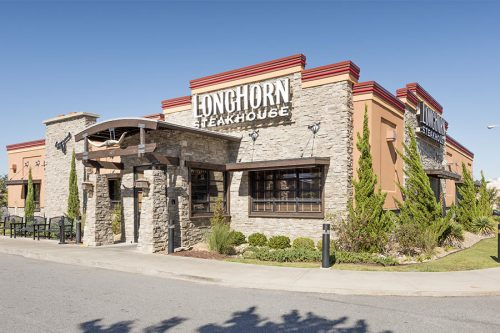 Longhorn Steakhouse Berkeley Mall Shopping Center Goldsboro, NC