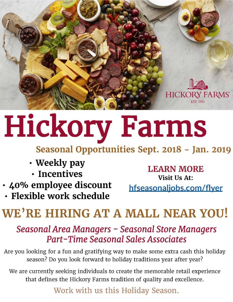 Hickory Farms Flyer